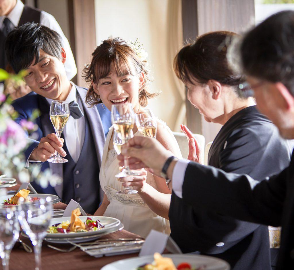 【地元で結婚式!】感謝とおもてなしが大事なふたりの相談会&試食付き