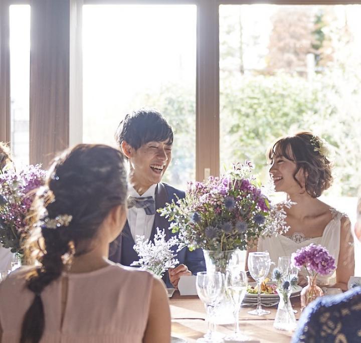 【少人数2~10名様】シンプルなパーティ希望のふたりの相談会